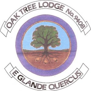The Emblem of Oak Tree Lodge - A Masonic Lodge in Surrey