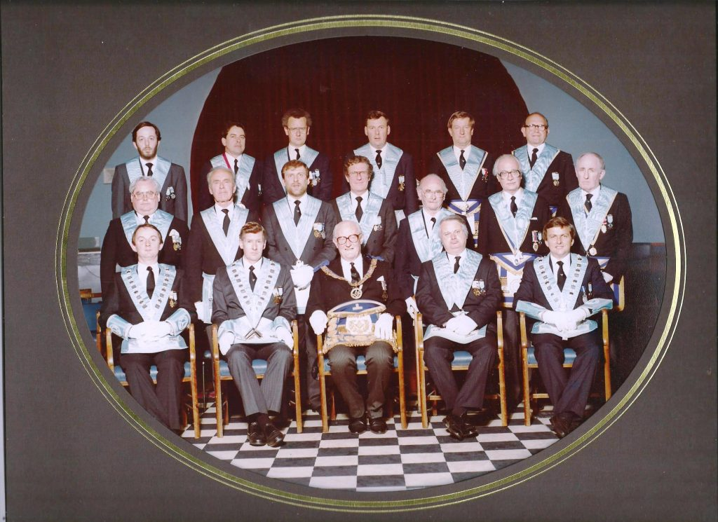 Founders photo from Oak Tree Lodge - A Masonic Lodge in Surrey